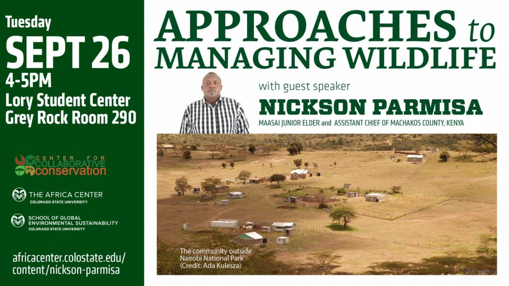 Nickson Parmisa talk flyer
