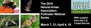 Natural Area Webinar series poster